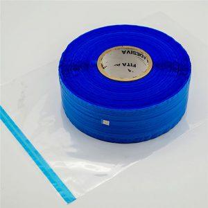 เทปปิดผนึกถุงผนึกแบบป้องกันไฟฟ้าสถิตสีน้ำเงินฟิล์มสีน้ำเงิน